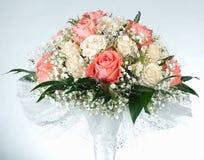 Wedding bouquet on white background Stock Photography