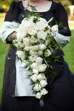 Wedding bouquet of white rose Royalty Free Stock Photo