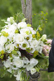 Wedding bouquet with white roses.GN Royalty Free Stock Photo