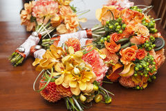 Wedding bouquets Stock Image