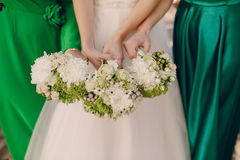 Wedding bouquets Royalty Free Stock Photography