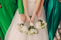 Wedding bouquets Stock Images