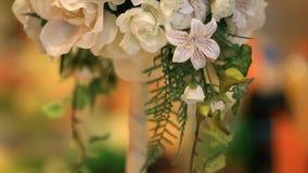 Wedding Bouquets stock video