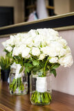 Wedding Bouquets with white roses Royalty Free Stock Image