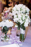 Wedding Bouquets with white roses Royalty Free Stock Photos
