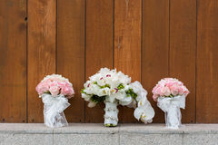 Wedding bouquets royalty free stock photo