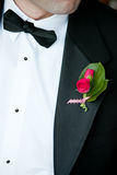 Wedding boutonniere Royalty Free Stock Photo