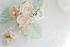 Wedding boutonniere Royalty Free Stock Photo