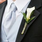 Wedding boutonniere royalty free stock photos