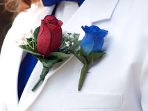 Wedding boutonniere Stock Photo