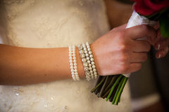 Wedding Bracelet Royalty Free Stock Photos