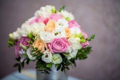 Wedding Brautblumenstrauß Lizenzfreies Stockbild