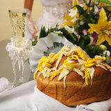 Wedding bread Royalty Free Stock Images