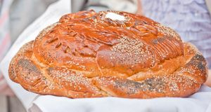 Wedding bread Stock Images