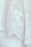 Wedding bridal вуаль Стоковое Изображение RF