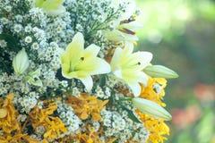 Wedding, Bridal цветки ливня Стоковое Фото