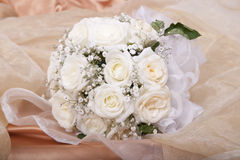 Wedding bridal bouquet Stock Photos