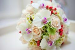 Wedding Bridal Bouquet Stock Photos
