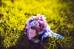 Wedding bridal bouquet Royalty Free Stock Images