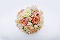 Wedding. Bridal bouquet of rose flowers Royalty Free Stock Photos