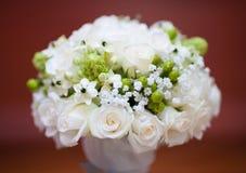 Wedding bridal bouquet rose. Wedding bridal bouquet white rose stock photos