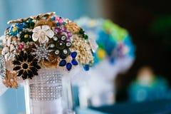 Wedding bridal centerpiece Stock Photography