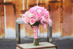 Wedding bridal centerpiece Royalty Free Stock Photography