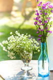 Wedding, Bridal shower flowers. An Outdoor Bridal Shower Background Filled with Love and Laughter Royalty Free Stock Image