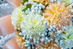 Wedding bride attributes Royalty Free Stock Images