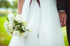 Wedding bride bouquet Stock Photos