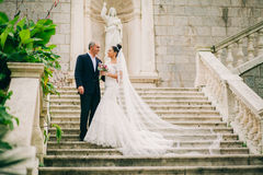 Wedding bride and groom Royalty Free Stock Photography