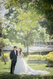 Wedding. Bride and groom image I'm in love Royalty Free Stock Photos