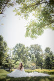 Wedding. Bride and groom image I'm in love Royalty Free Stock Photography