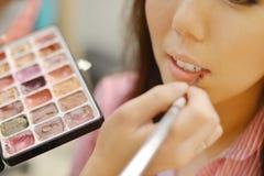 Wedding bride makeup Stock Photography