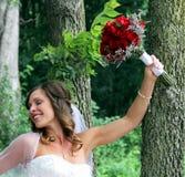 Wedding bride portrait royalty free stock photography