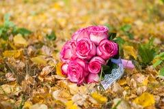 Wedding bride's bouquet Stock Photo