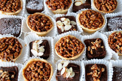 Wedding brownies Royalty Free Stock Photography