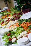 Wedding buffet food Royalty Free Stock Photo