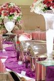 Wedding Buffett. Taken from indonesian wedding reception. This reception provides buffet food Stock Photo