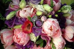 Wedding bunch Stock Image