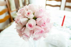 Wedding Bunch of different flowers Stock Images