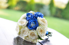 Wedding bunch of roses Stock Photography