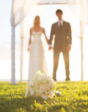 Wedding Buquet Royalty Free Stock Photography