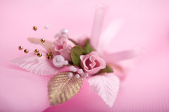 Wedding buttonhole Royalty Free Stock Photography