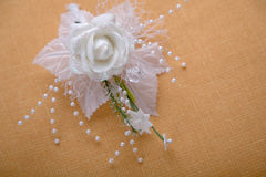 Wedding buttonhole Royalty Free Stock Image
