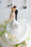Wedding cake. Very sweet delicious wedding cake Royalty Free Stock Photo
