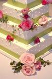 Wedding Cake. Katelyn Hamm Mark Kobussen Wedding Fort Worth Royalty Free Stock Image