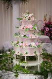 Wedding cake Stock Images