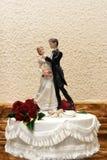 Wedding cake. Beautifully decorated tiered wedding cake Royalty Free Stock Photos