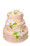 Wedding cake. Royalty Free Stock Image
